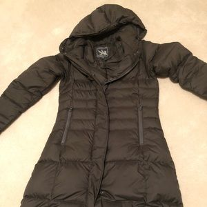 Gray Spiewak Down Winter Coat - Small